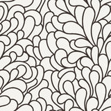 Vector seamless pattern of organic elements Royalty Free Stock Images