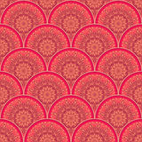 Vector seamless pattern. In oriental style Stock Image