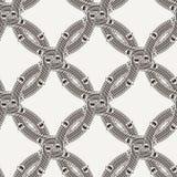 Vector seamless pattern of ornate interlocking Stock Photo