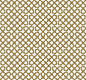 Vector seamless pattern of outlined chains Royalty Free Stock Images