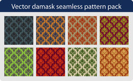 Vector Seamless Pattern Pack Royalty Free Stock Image