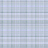 Vector seamless pattern. Pastel checkered background in blue colors, fabric swatch samples texture of linen cloth. Royalty Free Stock Photography