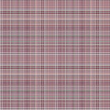 Vector seamless pattern. Pastel checkered background in violet colors, fabric swatch samples texture of linen cloth. Stock Photo
