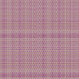 Vector seamless pattern. Pastel checkered background in violet colors, fabric swatch samples texture of woolen. Royalty Free Stock Photos
