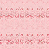 Vector seamless pattern on pink. Stock Image