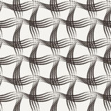Vector seamless pattern of the points collected by Royalty Free Stock Images