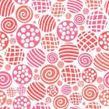 Vector seamless pattern polka dot fabric, backgroud, textu Royalty Free Stock Images
