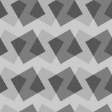 Vector seamless pattern with rectangles. Modern geometric texture. Opt Art Stock Photos
