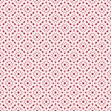 Vector seamless pattern, red and white repeat floral texture. Vector seamless pattern, red and white repeat ornamental texture in Japanese style. Abstract Royalty Free Stock Image