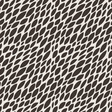 Vector seamless pattern reminiscent of flying in Royalty Free Stock Photos