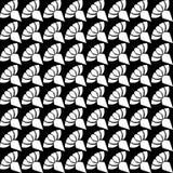 Seamless pattern, geometric ornamental texture black and white seamless pattren. Vector seamless pattern, repeat monochrome geometric ornamental texture vector illustration