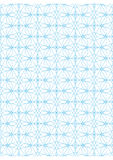 Vector seamless pattern. Repeating geometric lines on white background Stock Image