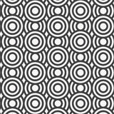 Vector seamless pattern. Repeating geometric tiles. Concentric circles. Vector seamless pattern. Modern stylish texture. Repeating geometric tiles. Concentric royalty free illustration