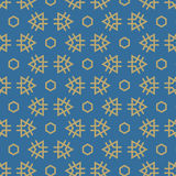 Vector seamless pattern. Repeating geometric tiles. Royalty Free Stock Photos