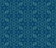 Vector seamless pattern. Repeating geometric tiles Royalty Free Stock Image