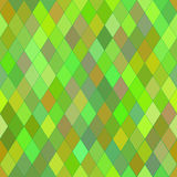 Vector seamless pattern with rhombs. Abstract bright green texture. Royalty Free Stock Photos