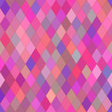 Vector seamless pattern with rhombs. Abstract bright pink and purple texture. Stock Photo