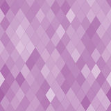Vector seamless pattern with rhombs. Abstract purple texture. Geometrical background. Monochrome backdrop Vector Illustration