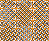 Vector seamless pattern of ribbons Stock Photo
