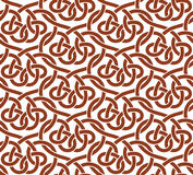 Vector seamless pattern of ribbons Royalty Free Stock Photography