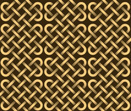 Vector seamless pattern of ribbons Stock Photos