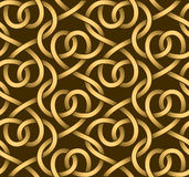 Vector seamless pattern of ribbons Stock Photography