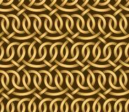 Vector seamless pattern of ribbons Royalty Free Stock Photos