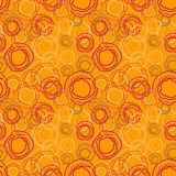 Vector seamless pattern - rings background Royalty Free Stock Image
