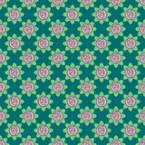 Vector seamless pattern of roses vector illustration