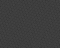Vector seamless pattern, rotated polygons, black & white Stock Images