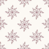 Vector seamless pattern with rounded elements Royalty Free Stock Photography