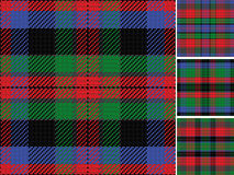 Vector seamless pattern Scottish tartan Stock Image
