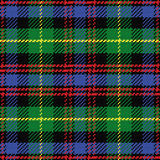 Vector seamless pattern Scottish tartan Black Watc Stock Photo