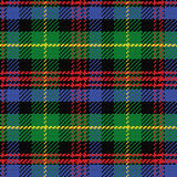 Vector seamless pattern Scottish tartan Black Watch Royalty Free Stock Photos