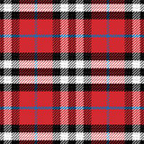 Vector seamless pattern Scottish tartan Stock Photography