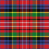 Vector seamless pattern Scottish tartan Caledonia Stock Photography