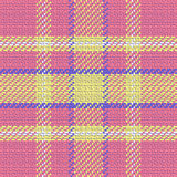 Vector seamless pattern Scottish tartan Royalty Free Stock Image