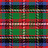 Vector seamless pattern Scottish tartan Stock Images