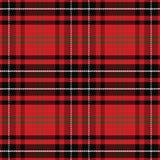 Vector seamless pattern Scottish tartan Stock Photo