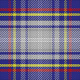 Vector seamless pattern Scottish tartan, State of Nevada Royalty Free Stock Photo