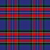 Vector seamless pattern Scottish tartan Stewart Stock Photography