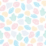 Vector seamless pattern. Royalty Free Stock Photography