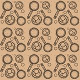 Seamless pattern with Shrovetide celebration. Illustration of Maslenitsa celebration. Vector seamless pattern with Shrovetide celebration. Illustration of Stock Photo