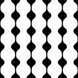 Vector seamless pattern. Simple abstract geometric background Stock Photos
