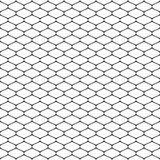 Vector monochrome seamless pattern of mesh, lattice, grid, fishnet. Vector seamless pattern, simple black and white geometric texture, monochrome illustration Stock Photo