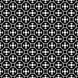 Vector seamless pattern, simple geometric ornament Royalty Free Stock Image