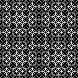 Vector seamless pattern, simple geometric ornament royalty free illustration