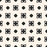 Vector seamless pattern, simple geometric texture with circles, Stock Images