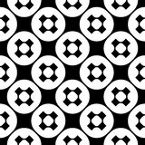 Vector seamless pattern, simple monochrome minimalist  texture Stock Photo