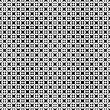 Vector seamless pattern, simple monochrome texture. Vector monochrome seamless pattern, simple minimalist texture with crosses & circles, smooth black & white Vector Illustration